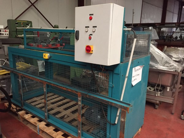 laboratory roving frame for tuft - Second Hand Textile Machinery 2002