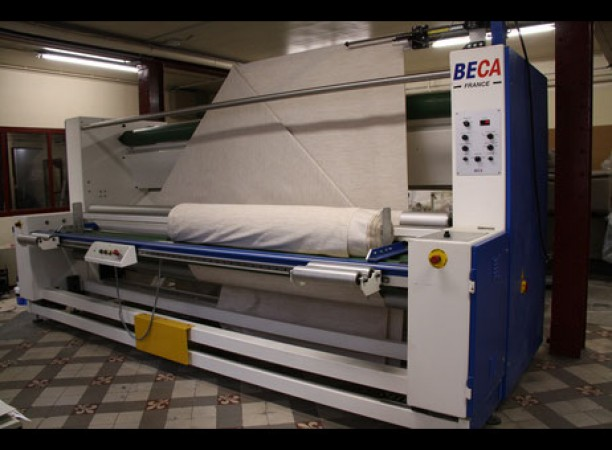 Winding folding machine BECA . - Second Hand Textile Machinery 2004