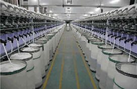 Used Cotton spinning